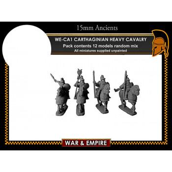 WE-CA01 Noble Carthaginian Heavy Cavalry with Armoured Horse
