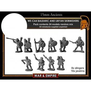 WE-CA04 Carthaginian Balearic & Libyan Skirmishers