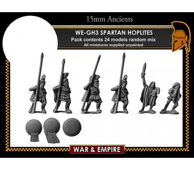 WE-GH03 Early Greek, Spartan Hoplites