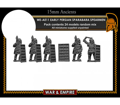 WE-AE11 Early Persian Sparabara Shield Bearers
