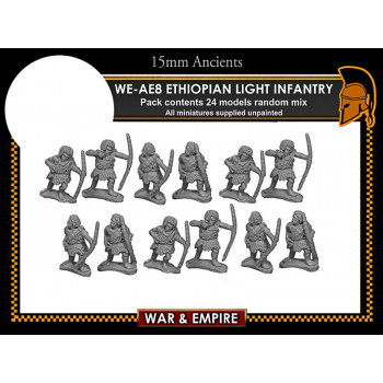 WE-AE08 Early Persian, Ethiopian Light Infantry