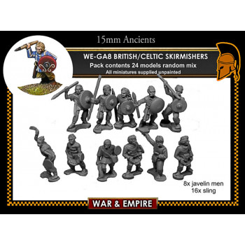 WE-GA08 Celtic/British Skirmishers