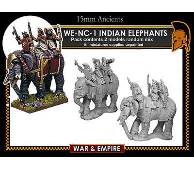 WE-NC01 Indian Elephants