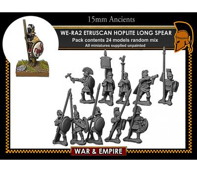 WE-RA02 Etruscan Hoplites, long spear