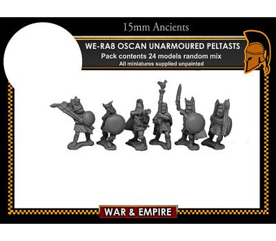WE-RA08 Oscan Unarmoured Peltasts