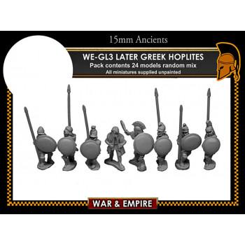 WE-GL03 Later Greek, Hoplites