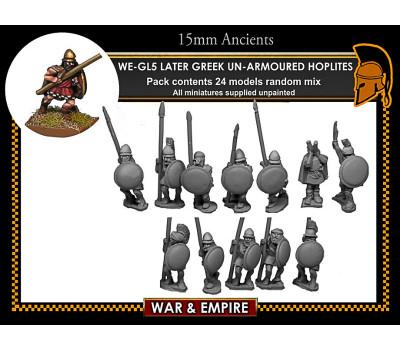 WE-GL05 Later Greek, Light-equipped Hoplites