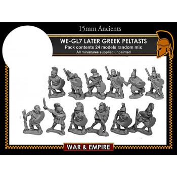WE-GL07 Later Greek, Peltasts