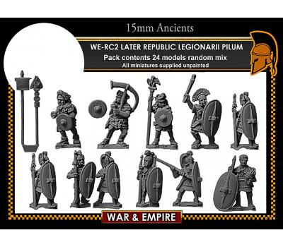 WE-RC02 Later Republican Legionarii, pilum
