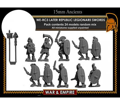 WE-RC03 Later Republican Legionarii, swords