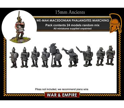 WE-MA04 Macedonian Phalangites, marching