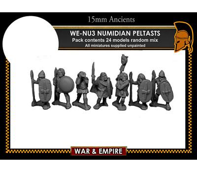 WE-NU03 Numidian Peltasts