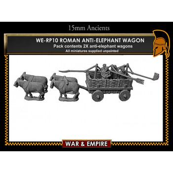 WE-RP10 Roman Anti-Elephant Wagons (Pyrrhic Wars)