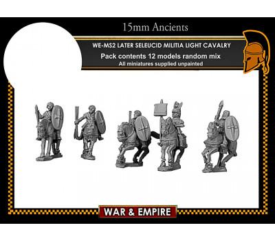 WE-MS02 Later Seleucid Militia Light Cavalry
