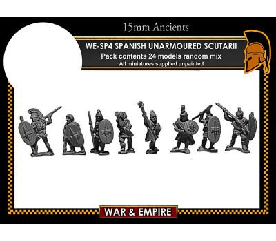 WE-SP04 Spanish Unarmoured Scutarii