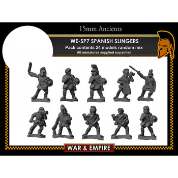 WE-SP07 Spanish Skirmishers