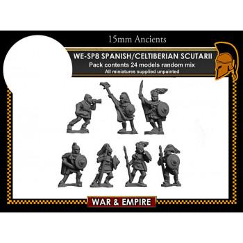 WE-SP08 Spanish/Celtiberian Scutarii