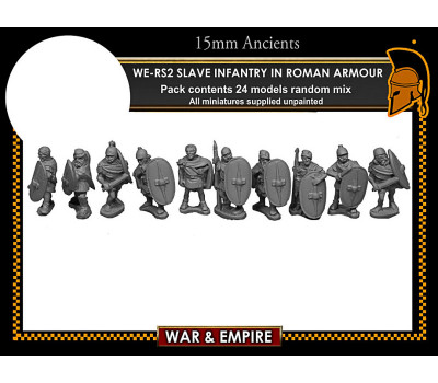 WE-RS02 Spartacus' Slave Infantry, in Roman armour