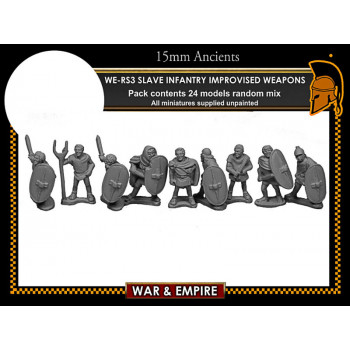 WE-RS03 Spartacus' Slave Infantry, Improvised Weapons