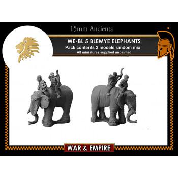 WE-BL05 Blemye Elephants