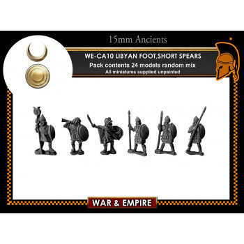 WE-CA10 Libyan Foot, short spears