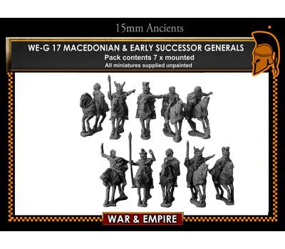WE-G17 Macedonian & Early  Successor Generals