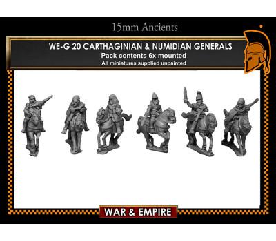WE-G20 Carthaginian & Numidian Generals