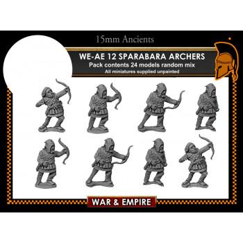 WE-AE12 Sparabara foot archers