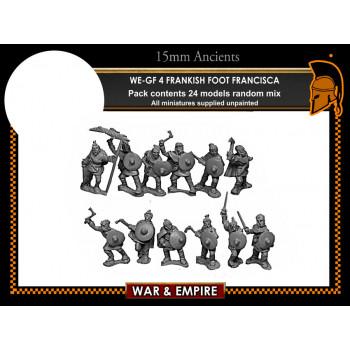 WE-GF04 Frankish Foot, Francisca