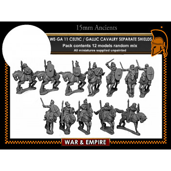 WE-GA11 Celtic and Gallic Cavalry - separate shields