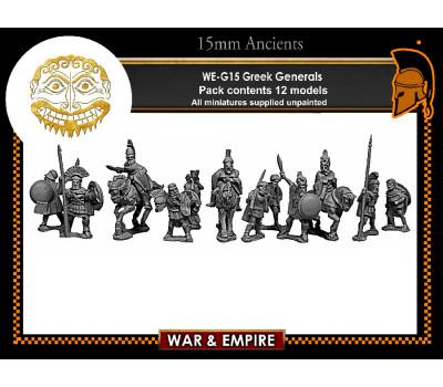 WE-G15 Greek Generals