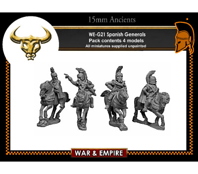 WE-G21 Spanish Generals