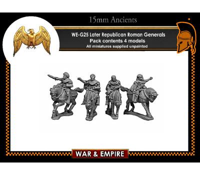 WE-G25 Later Republic Roman Generals