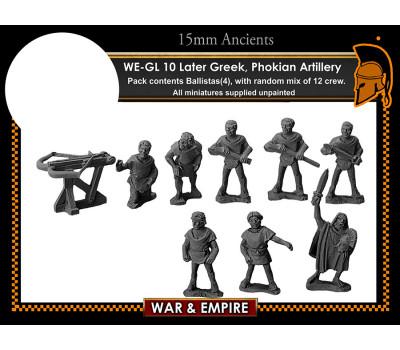 WE-GL10 Later Greek, Phokian Artillery