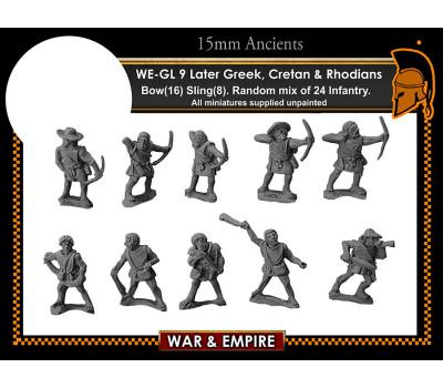 WE-GL09 Later Greek, Cretan & Rhodians