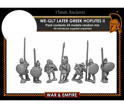 WE-GL06 Later Greek, Assorted Later Hoplites