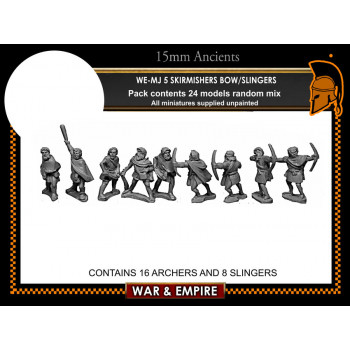 WE-MJ05 Skirmishers, bow or sling