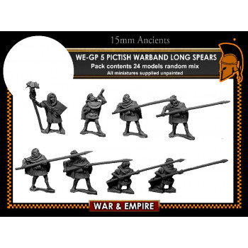 WE-GP05 Pictish Warband, spears