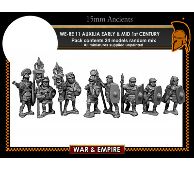 WE-RE11 Auxilia, Early & mid 1st century, javelins