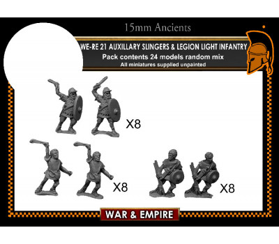 WE-RE21 Auxiliary Slingers & Legionary Light Infantry