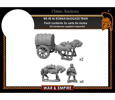 WE-RE46 1st/2nd Century Roman baggage train