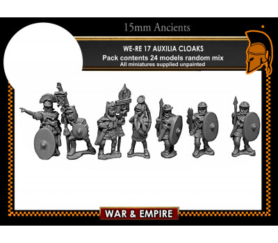 WE-RE17 Auxilia, cloaks