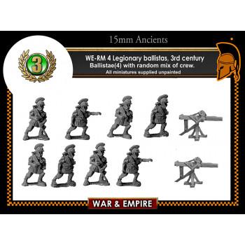 WE-RM04 Legionary ballistas, 3rd century