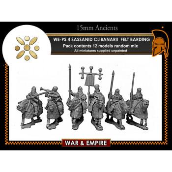 WE-PS04 Clibanarii Cavalry (felt armoured horse)