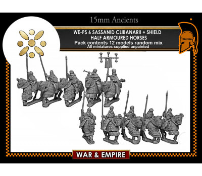 WE-PS06 Clibanarii  Cavalry (shield, half armoured horse)