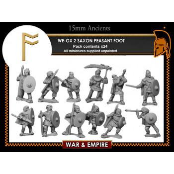 WE-GX02 Saxon Peasant Foot