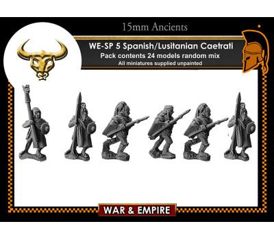 WE-SP05 Spanish/Lusitanian Caetrati