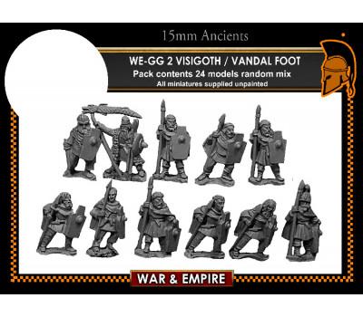 WE-GG02 Visigoth/Vandal Foot