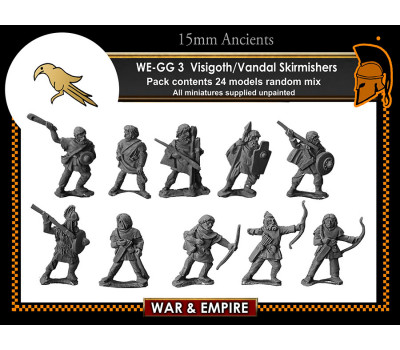 WE-GG03 Visigoth/Vandal Skirmishers