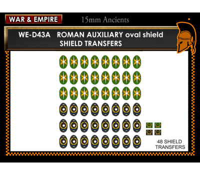 WE-D43A Roman Auxiliaries, oval shields  (type 2)